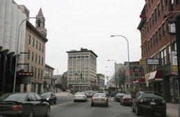 Worcester traffic on main street